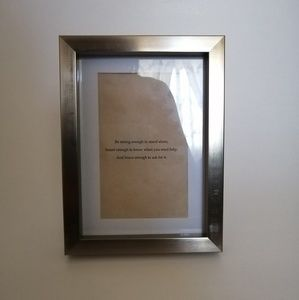 Other - 🎄Vintage Quote in Gold Frame | Brand New